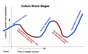 Culture shock stages